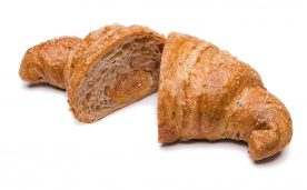 Croissant Cereali e germe di grano all'arancia